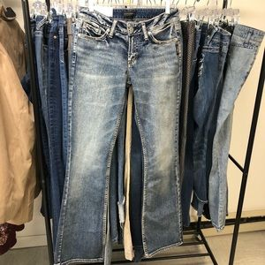 New silver suki jeans 26/33
